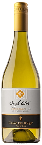 CASAS DEL TOQUI Single Estate Chardonnay - D.O. Central Valley