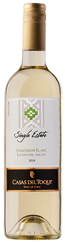 CASAS DEL TOQUI Single Estate Sauvignon Blanc - D.O. Central Valley